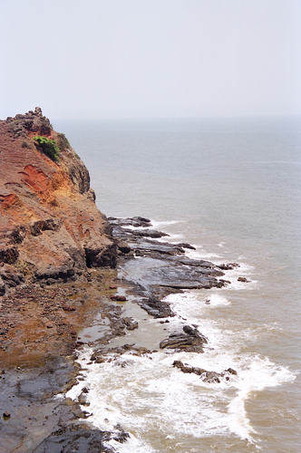 Sea from Ratnadurg, Ratnagiri