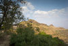 Vajragad Fort as seen from Purandar